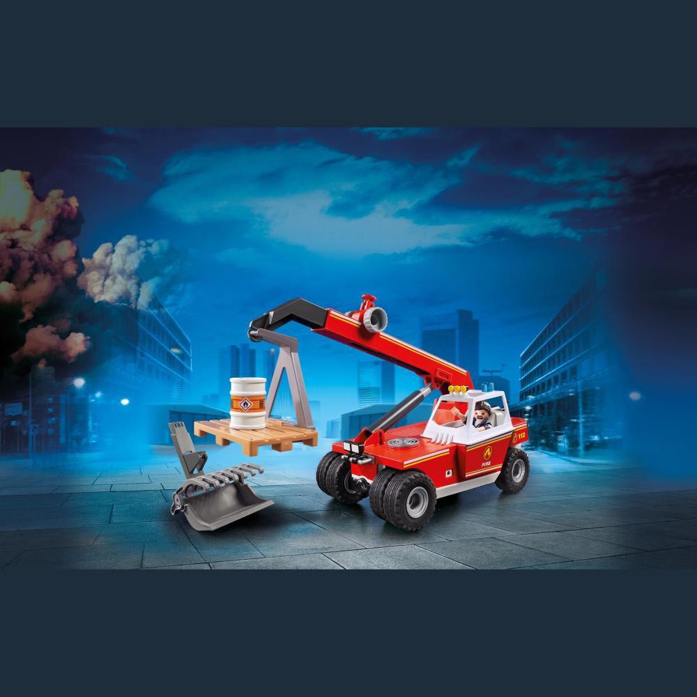 Figura De Acción Playmobil Elevador image number 2.0