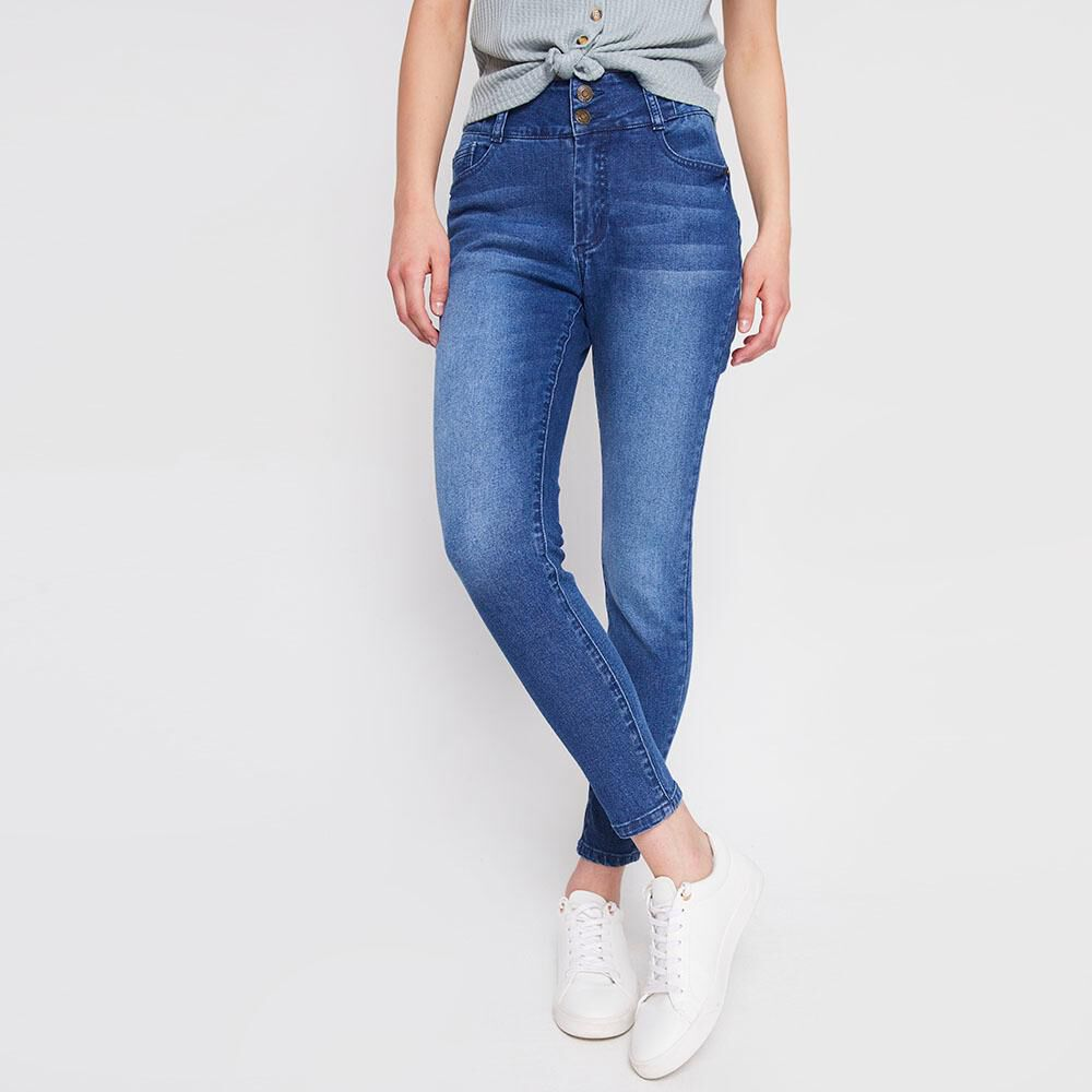 Jeans Mujer Push Up Freedom image number 0.0