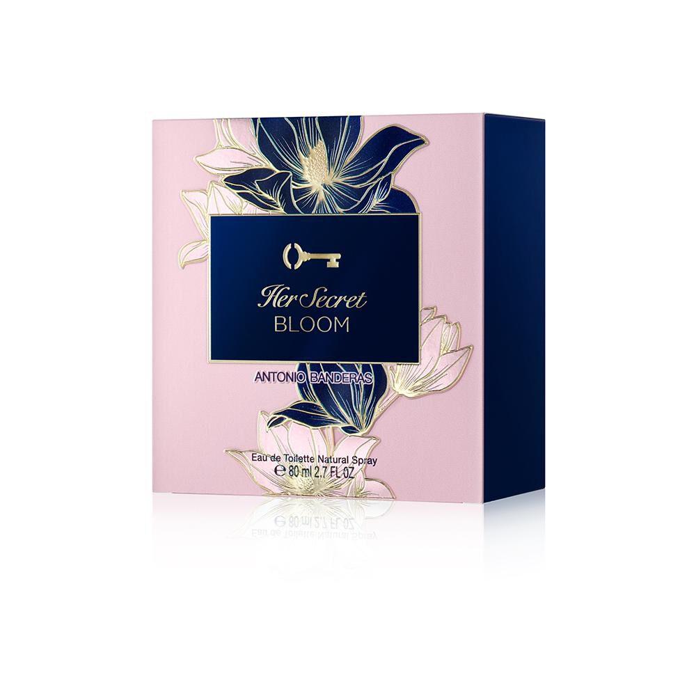 Perfume Secret Bloom Antonio Bandera / 80 Ml / Edt image number 3.0