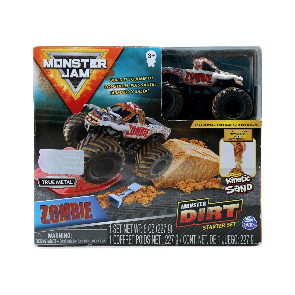 Auto De Juguete Monster Jam Monster Dirt Starter Set image number 0.0