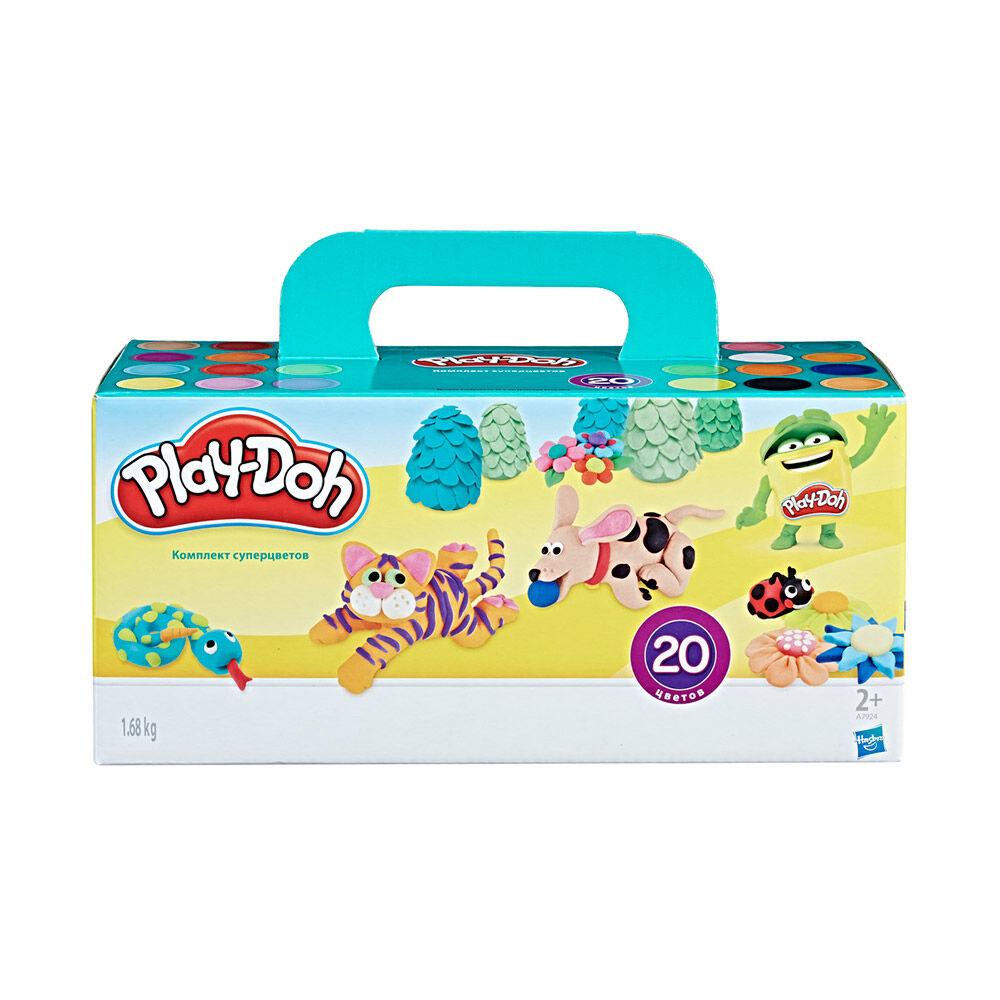 Juego Didáctico Hasbro Play Doh Set De Masas / 20 Unidades image number 0.0