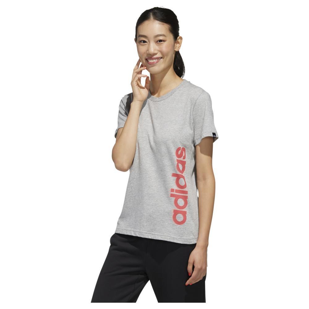 Polera Mujer Adidas Gráfica Vertical image number 0.0