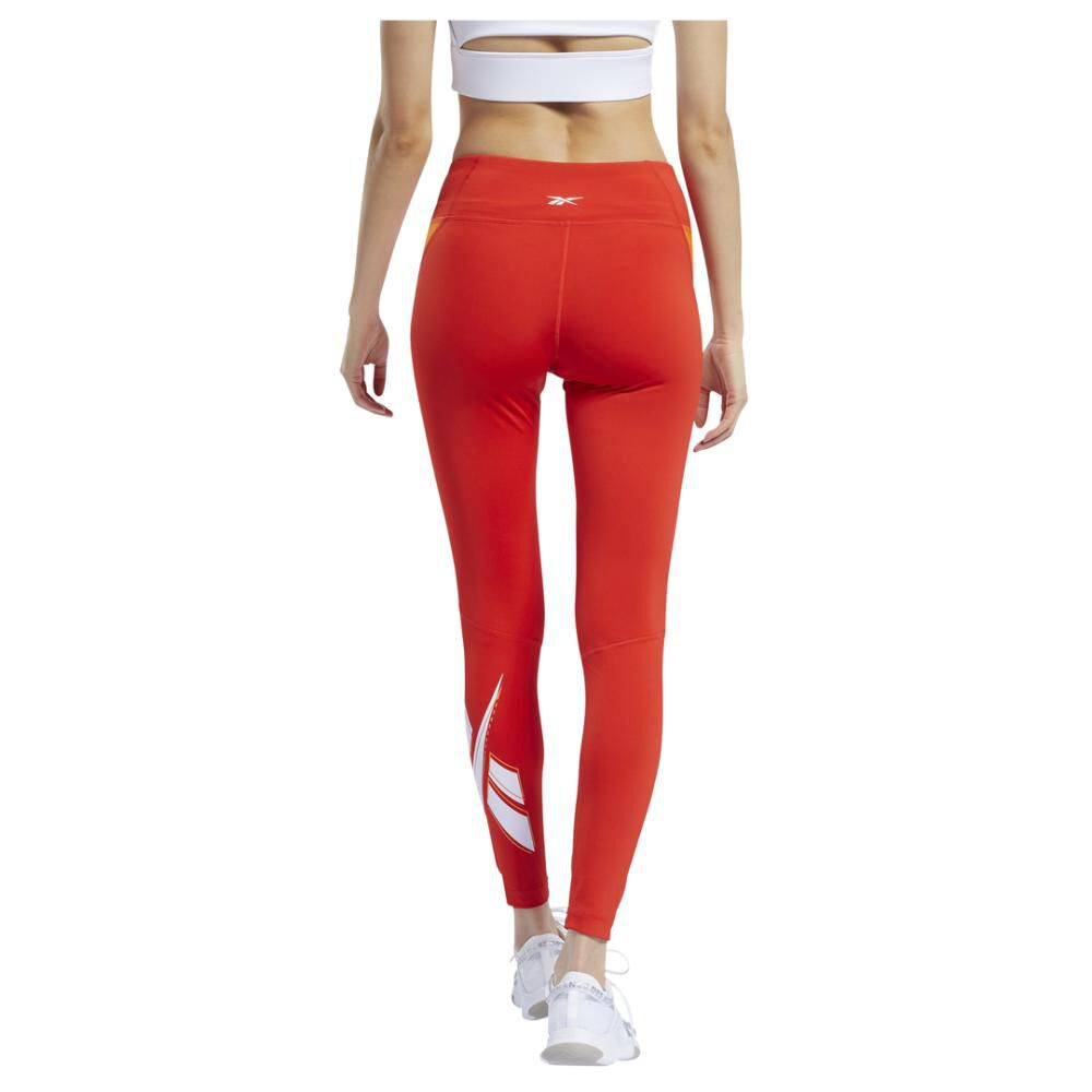 Calza Mujer Reebok Workout Ready Vector Logo Tight image number 1.0