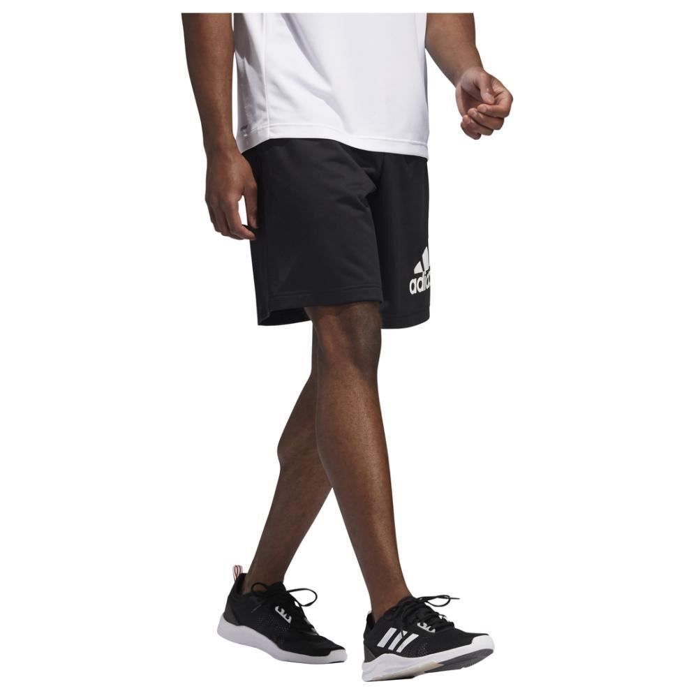 Short Deportivo Unisex Adidas Knit Logo image number 2.0