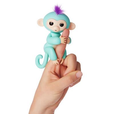 Juguete Fingerlings Turquoise Zoe