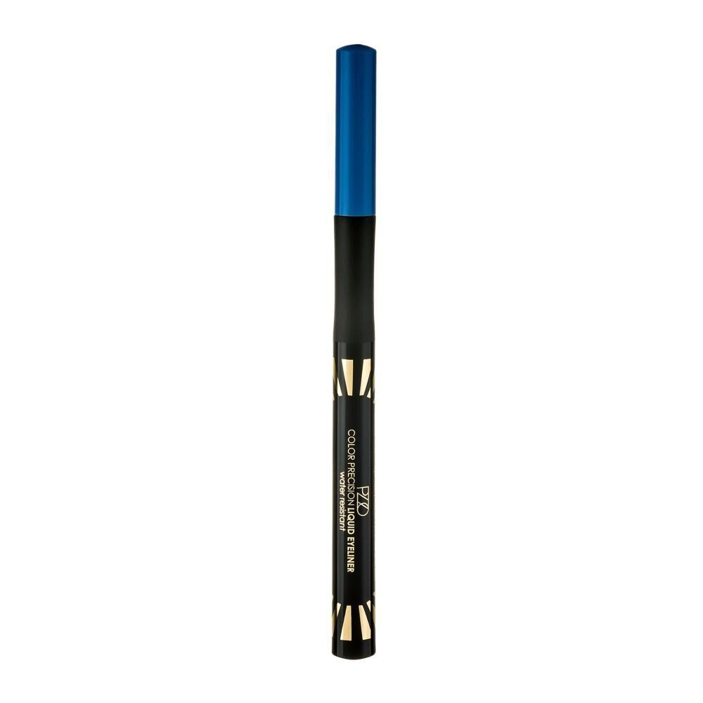 Delineador Color Natural Petrizzio Color Precision Liquid Eyeliner  / Azul image number 0.0