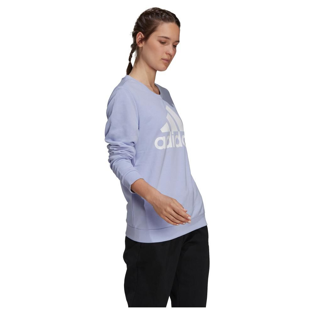 Polerón Deportivo Mujer Adidas Essentials Relaxed Logo image number 1.0