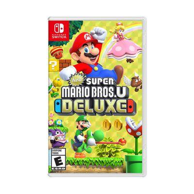 Juego Nintendo Switch Nintendo Super Mario Bros U Deluxe