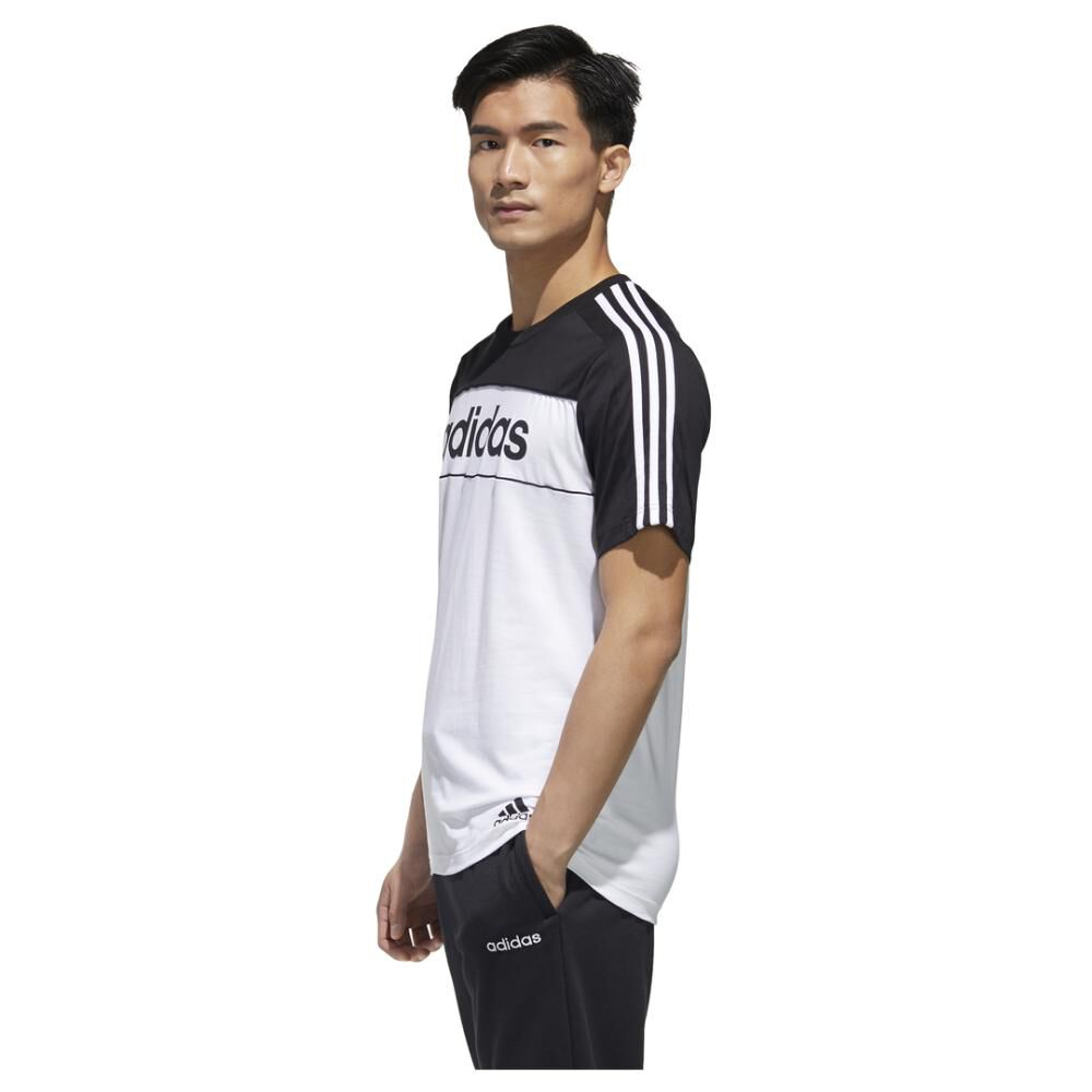 Polera Hombre Adidas Essentials Tape T-shirt image number 5.0