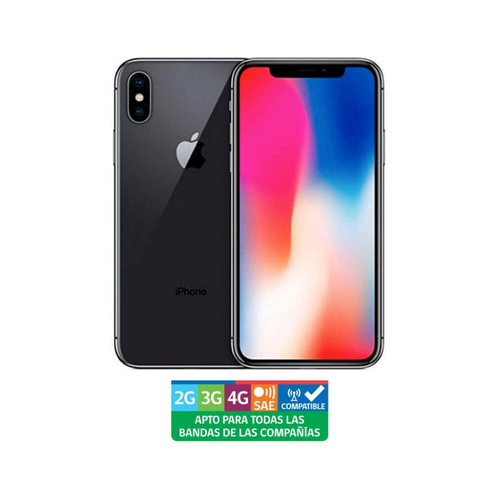 Smartphone Apple Iphone Xs Reacondicionado Gris Espacial / 64 Gb / Liberado image number 0.0