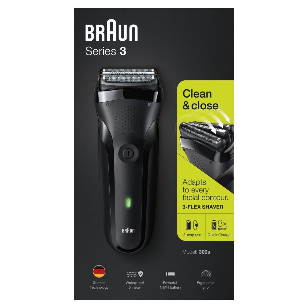 Maquina De Afeitar Braun Serie 3 300 Black image number 3.0