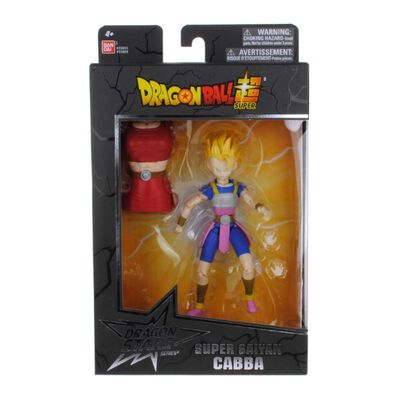 Figura De Accion Dragon Ball Z Super Saiyan Cabba