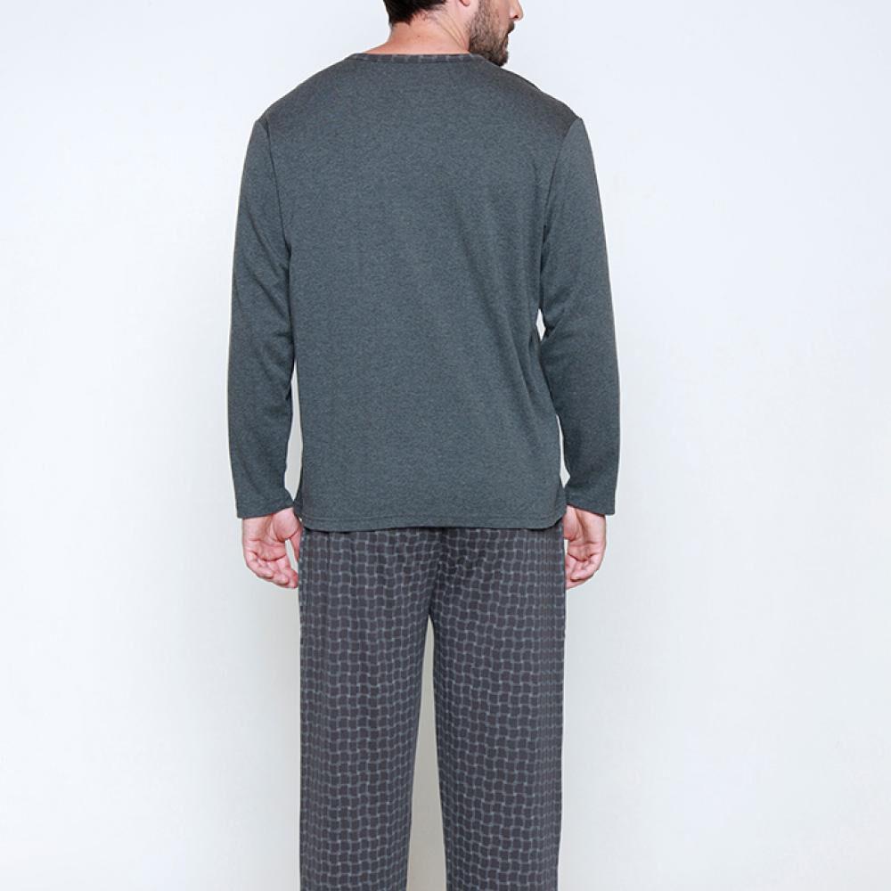 Pijama Largo Hombre Kayser image number 1.0