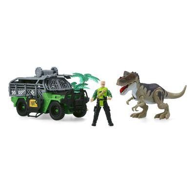 Set De Juguetes Hitoys Dinosaurio 4X4