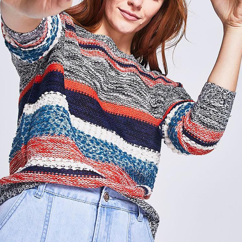 Sweater Rayas Mujer Ocean Pacific image number 0.0