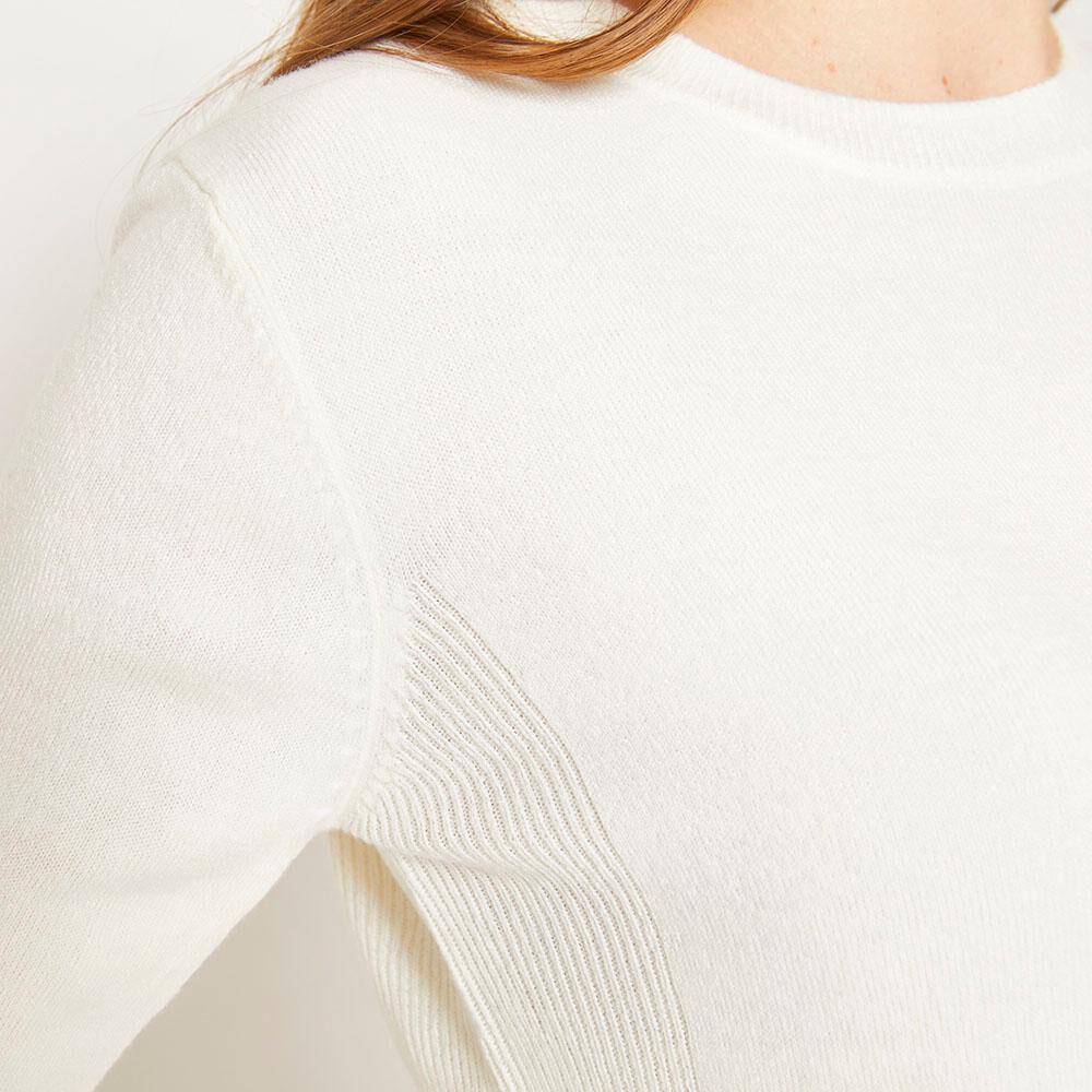 Sweater Básico Regular Fit Cuello Redondo Mujer Geeps image number 3.0