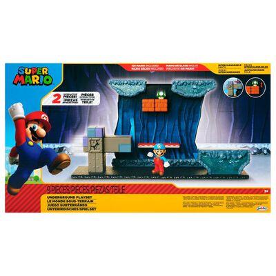Figura Coleccionable Nintendo Playset Super Mario Underground