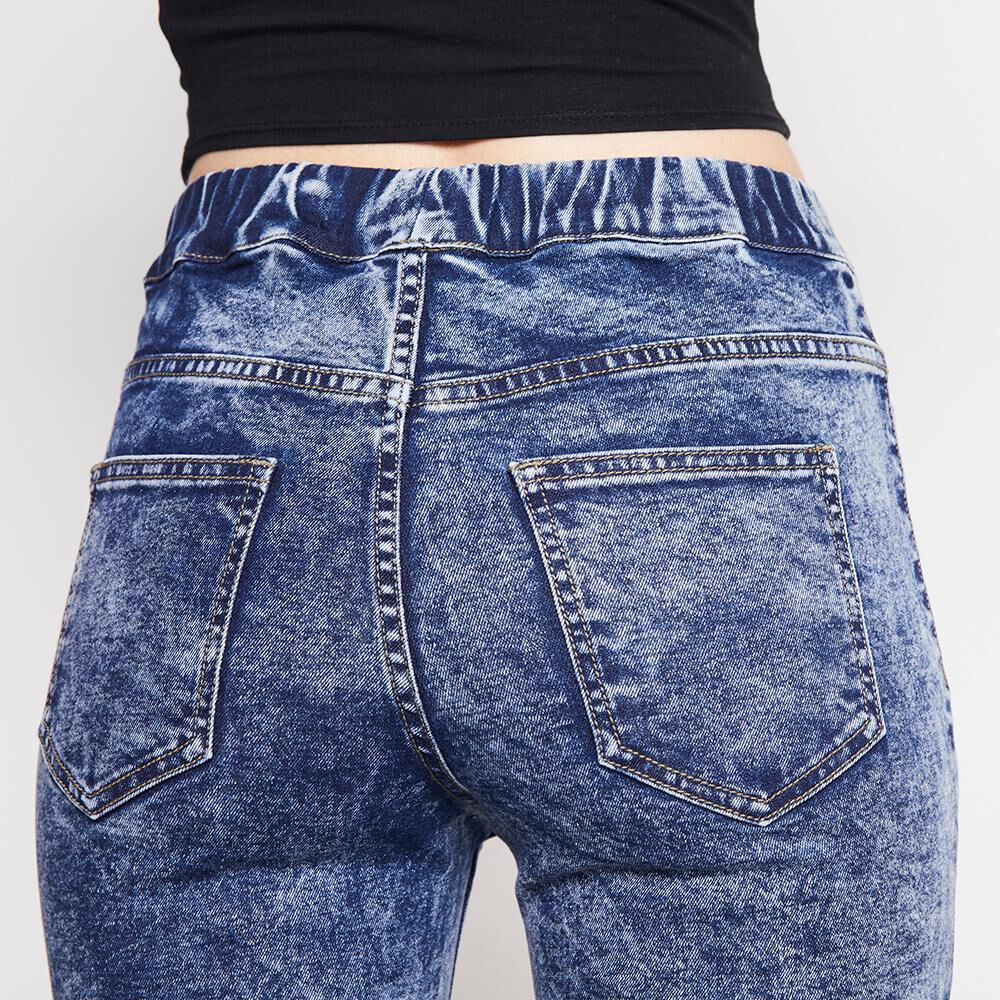 Jeans Mujer Tiro Alto Flare Freedom image number 4.0