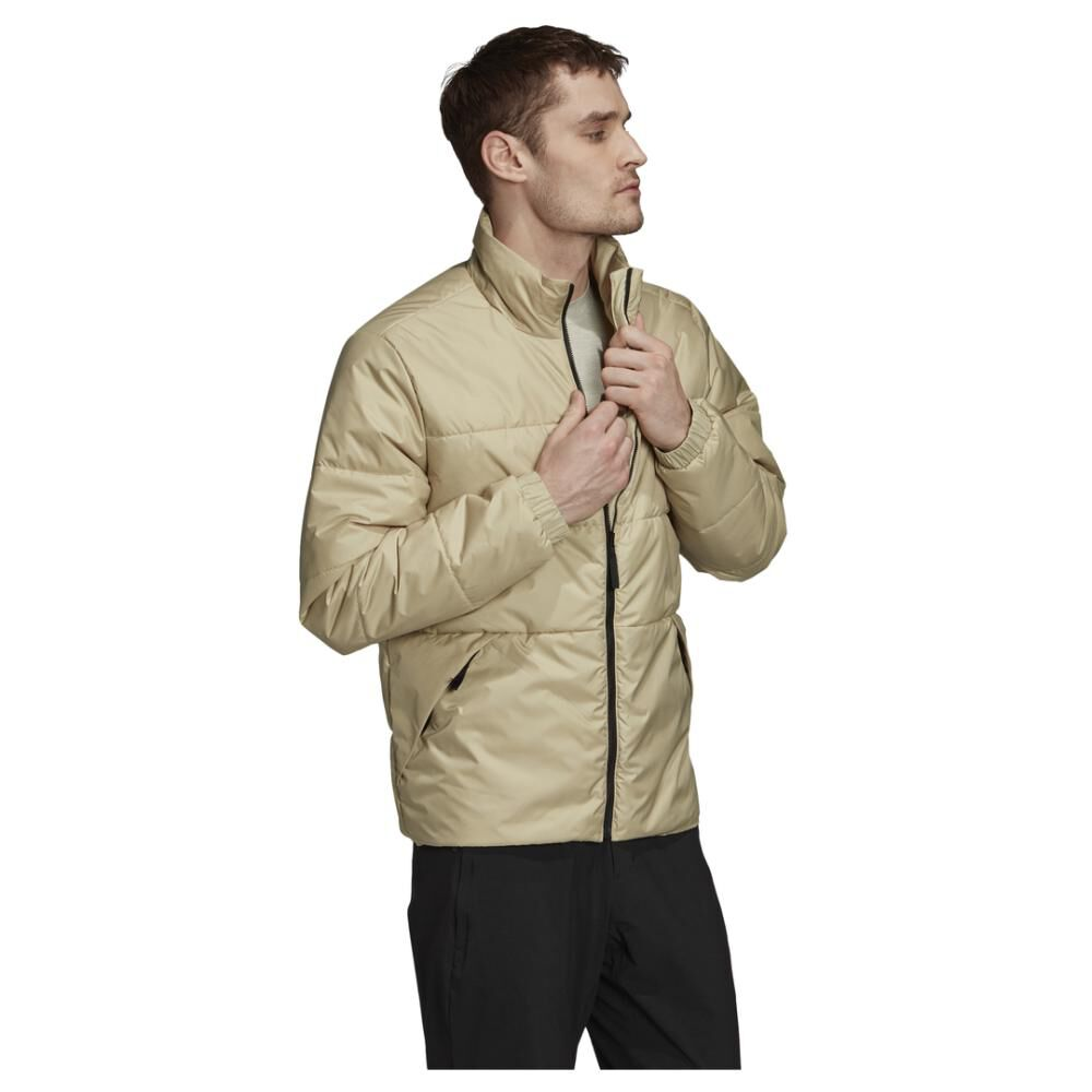 Chaqueta Deportiva Hombre Adidas Insulated Bsc 3 Bandas image number 8.0