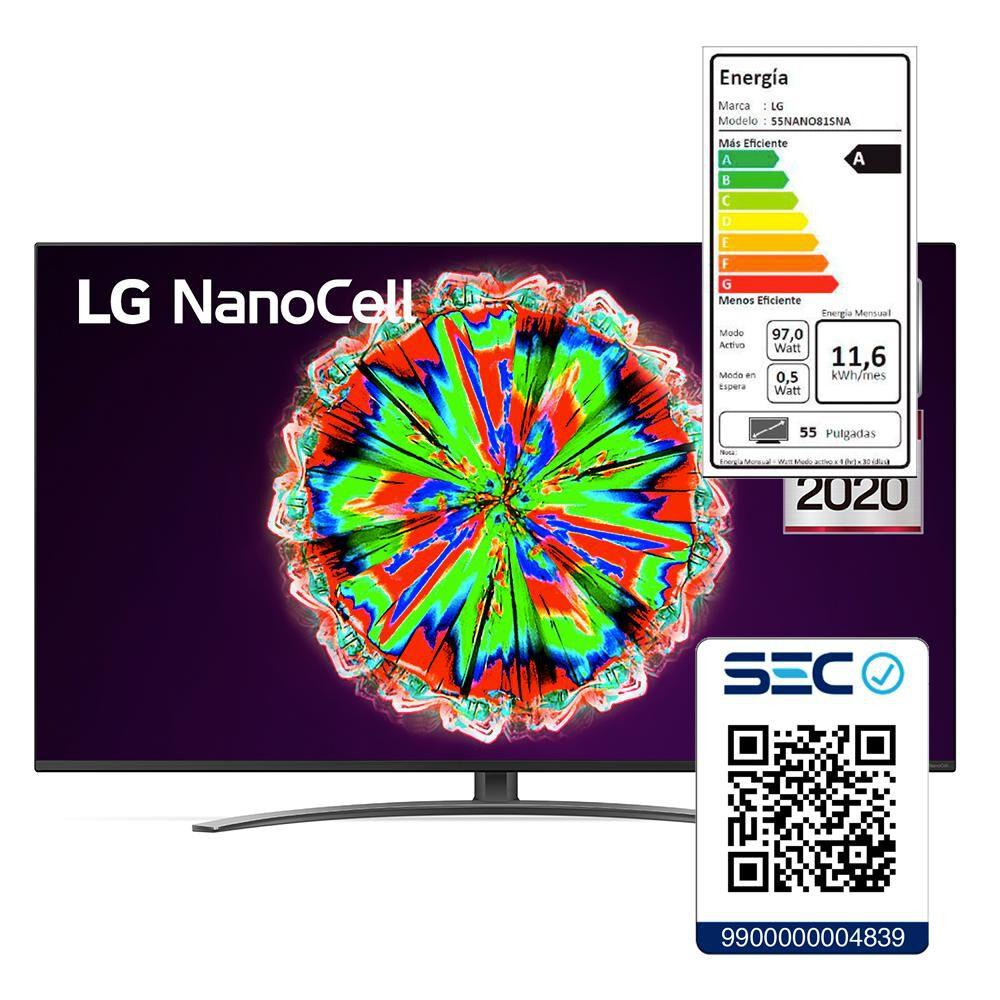 """Led LG 55NANO81SNA / 55"""" / 4K HDR NanoCell / Smart Tv 2020 image number 7.0"""