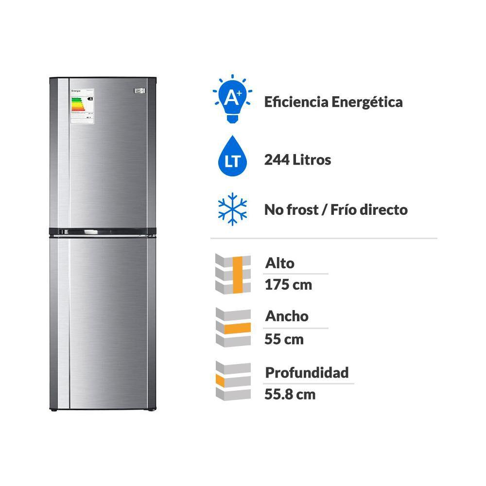 Refrigerador Bottom Freezer Fensa Progress 3100 Plus / Frío Directo / 244 Litros image number 1.0