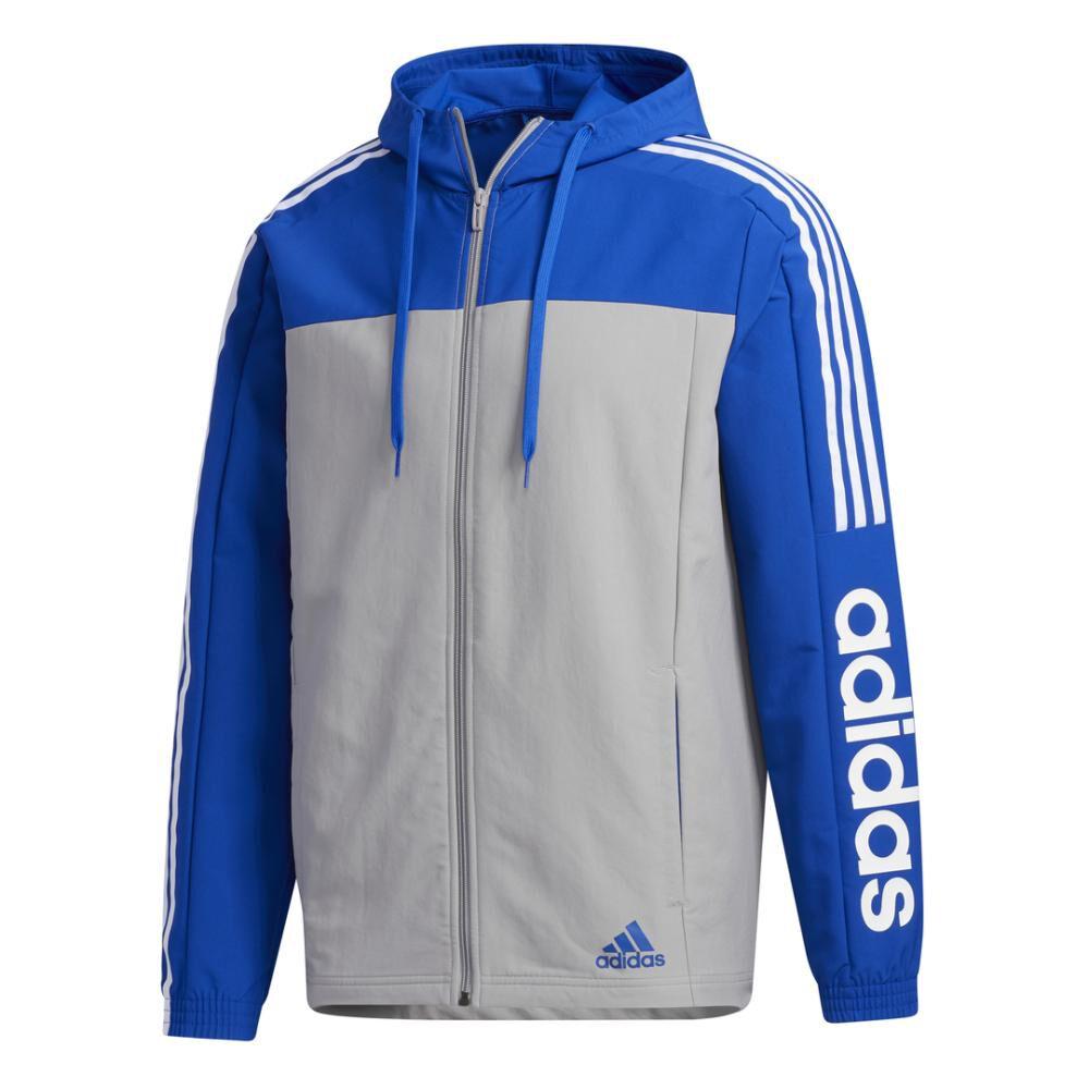 Polerón Deportivo Hombre Adidas Essentials Windbreaker image number 7.0
