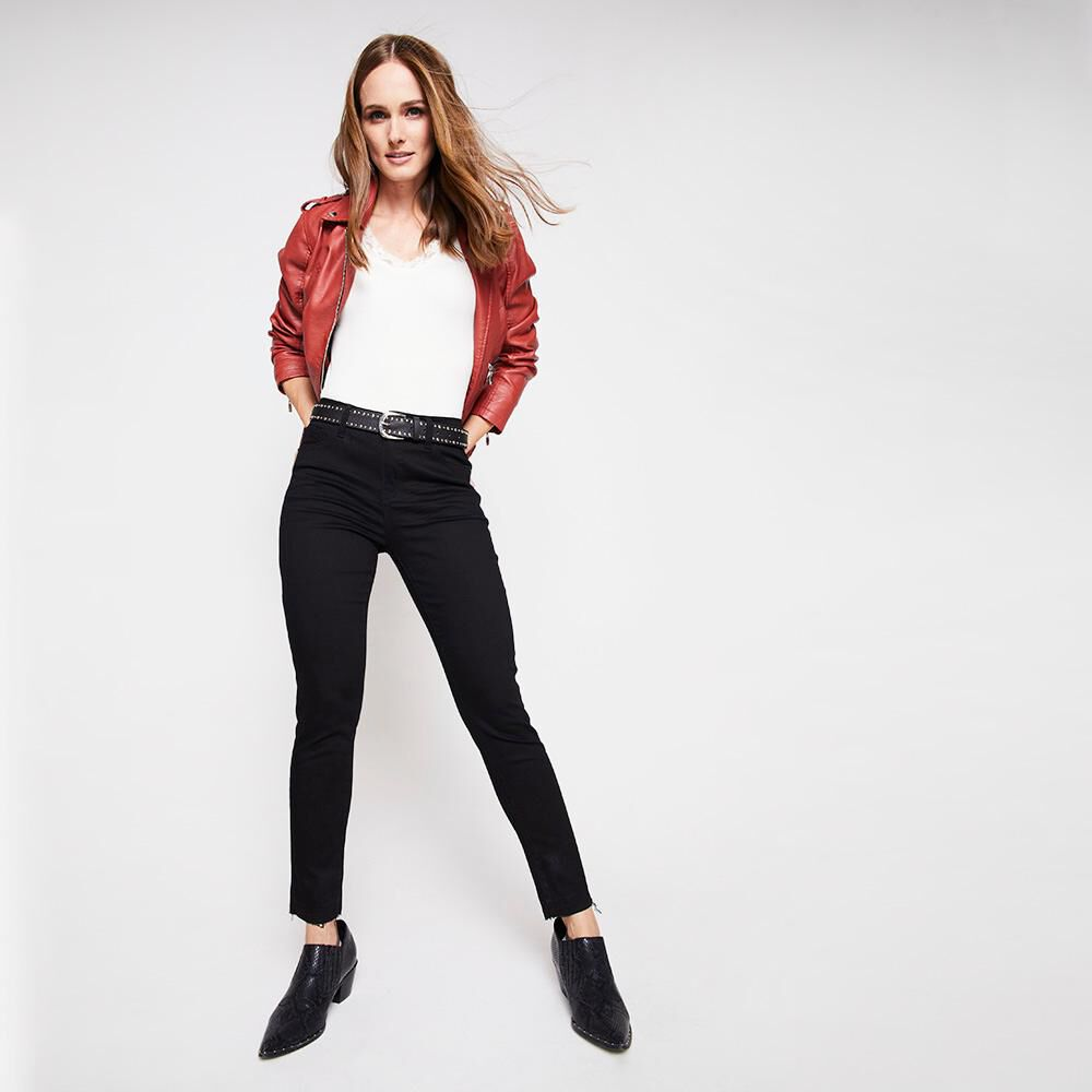 Jeans Mujer Tiro Medio Skinny Kimera image number 1.0
