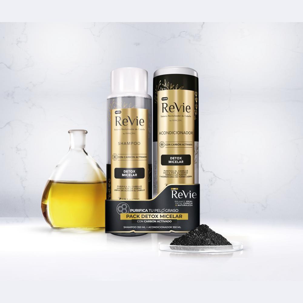 Pack Shampoo + Acondicionador Revie Detox Micelar image number 1.0