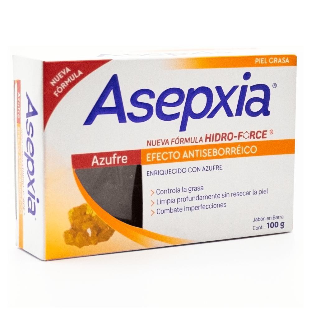 Jabón Asepxia / 100 Gr image number 2.0