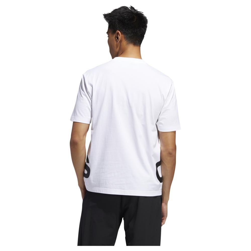 Polera Hombre Adidas Logo Grande image number 3.0