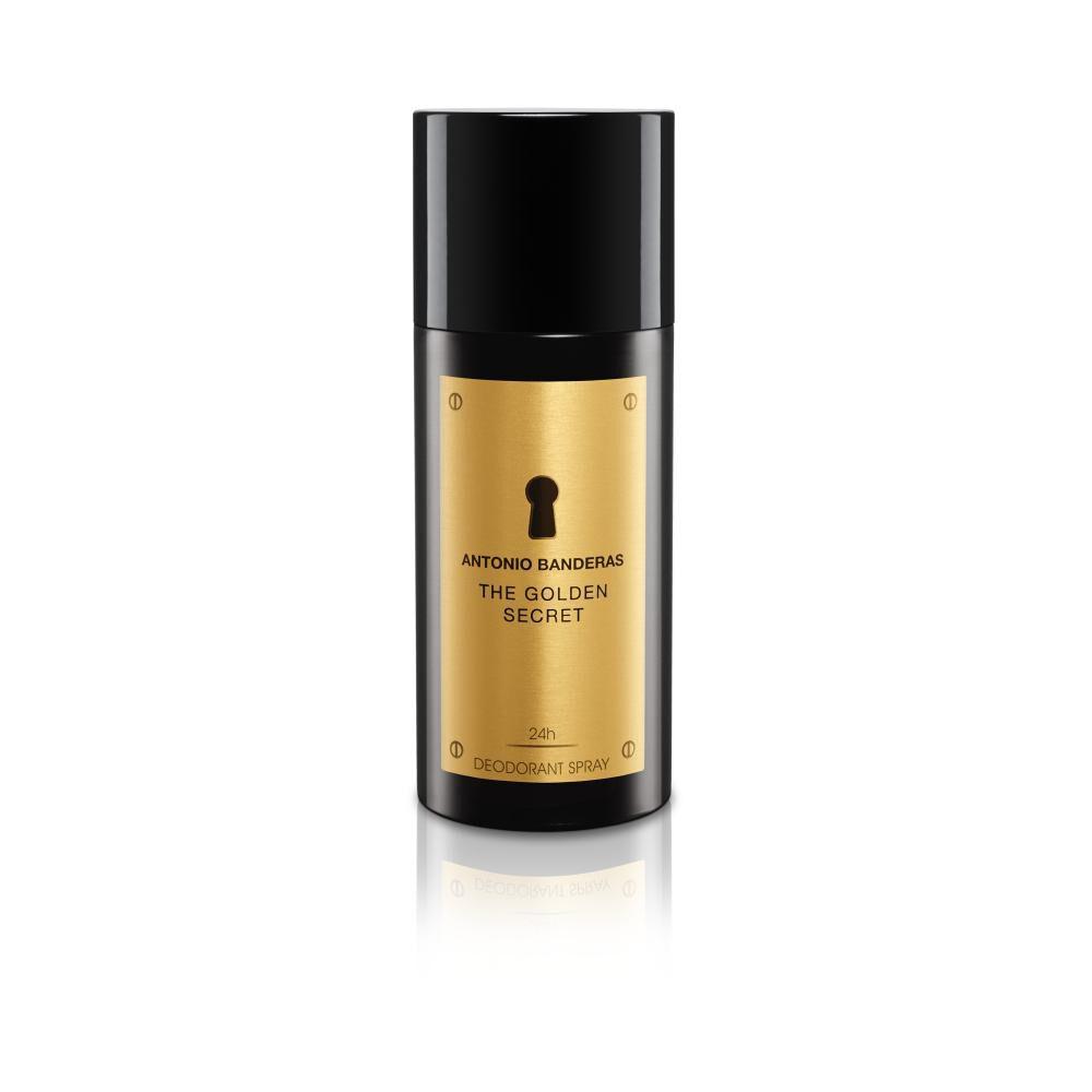 Perfume The Golden Secret Antonio Bandera / 50 Ml / Eau De Toillete + Desodorante image number 2.0