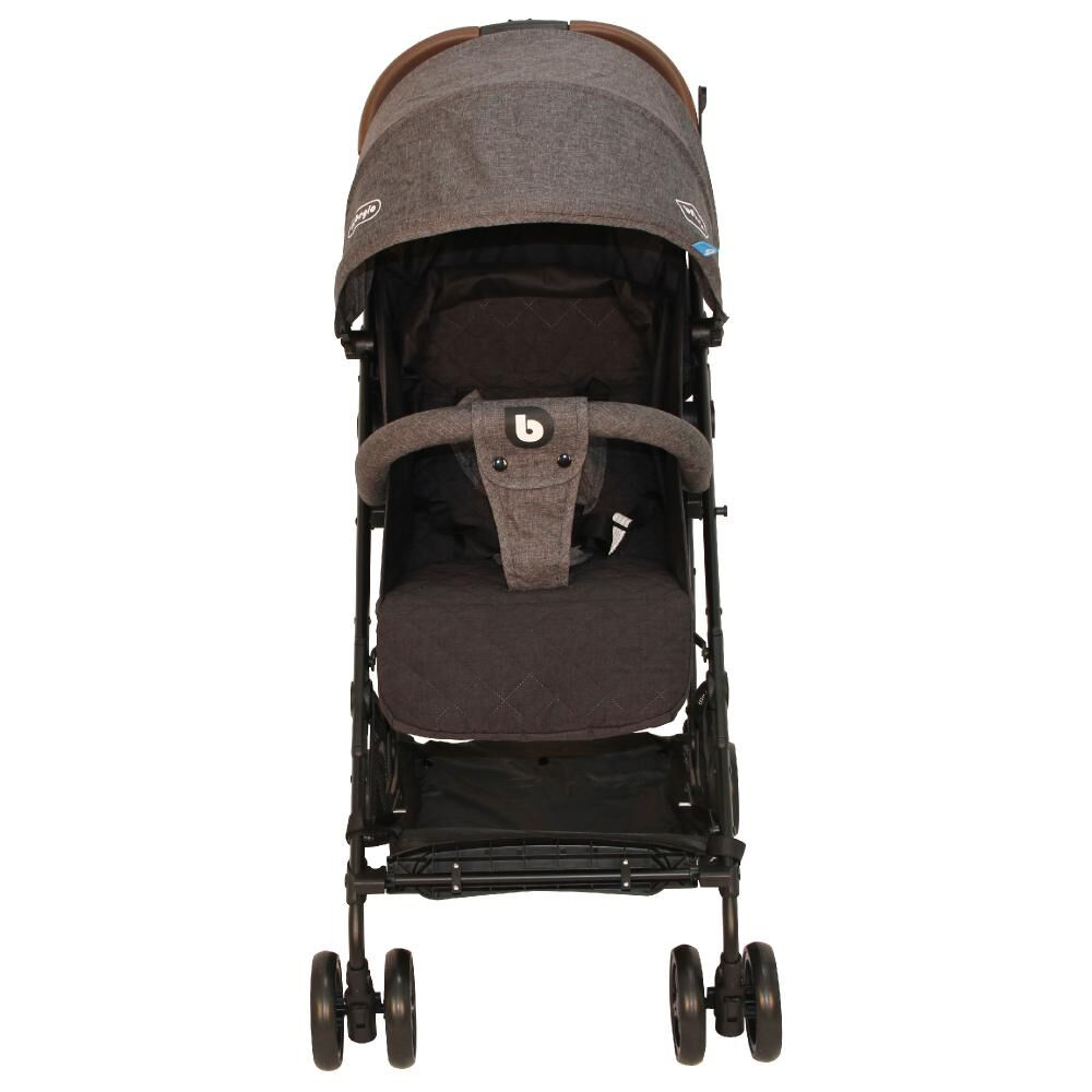 Coche Travel System Compacto Bebeglo RS-13785-3 Gris image number 9.0