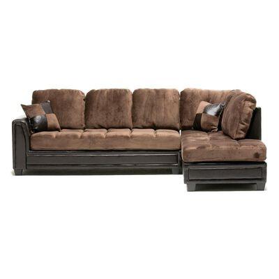 Sofa Seccional Casaideal New Dark / 4 Cuerpos