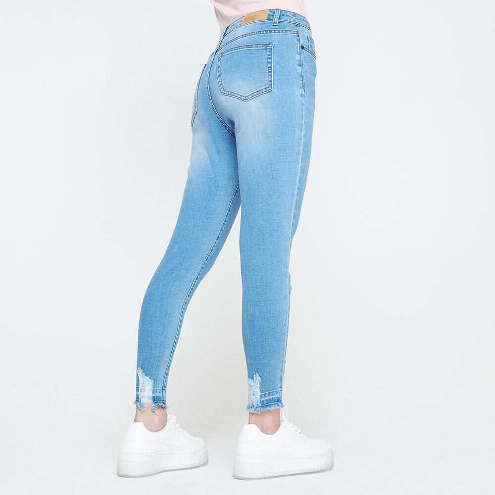 Jeans Mujer Tiro Alto Super Skinny Freedom image number 2.0