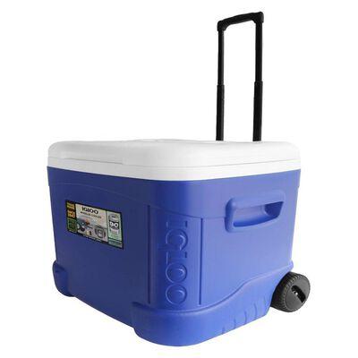 Cooler Igloo Con Ruedas 56l Azul