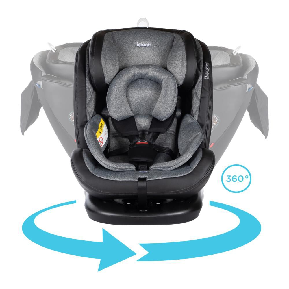 Silla De Auto Infanti Convertible I-Giro 360 image number 4.0
