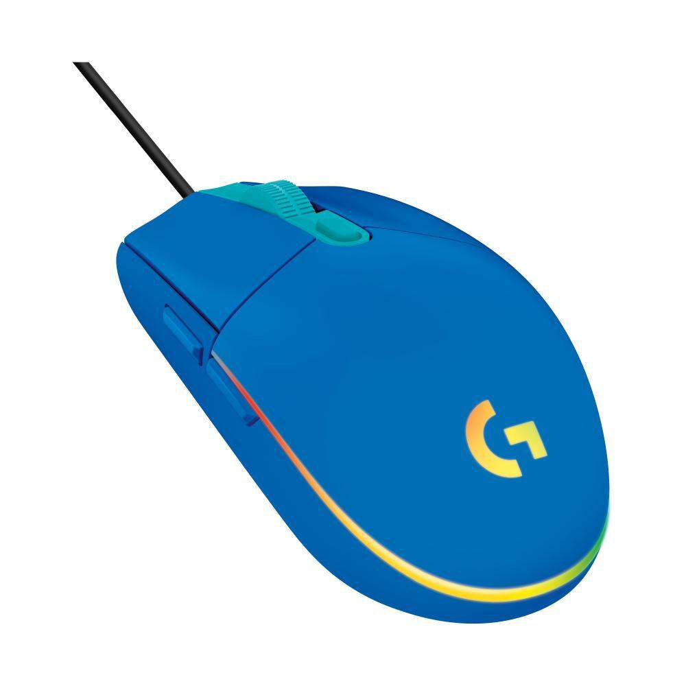 Mouse Gamer Logitech G203 Blue image number 1.0