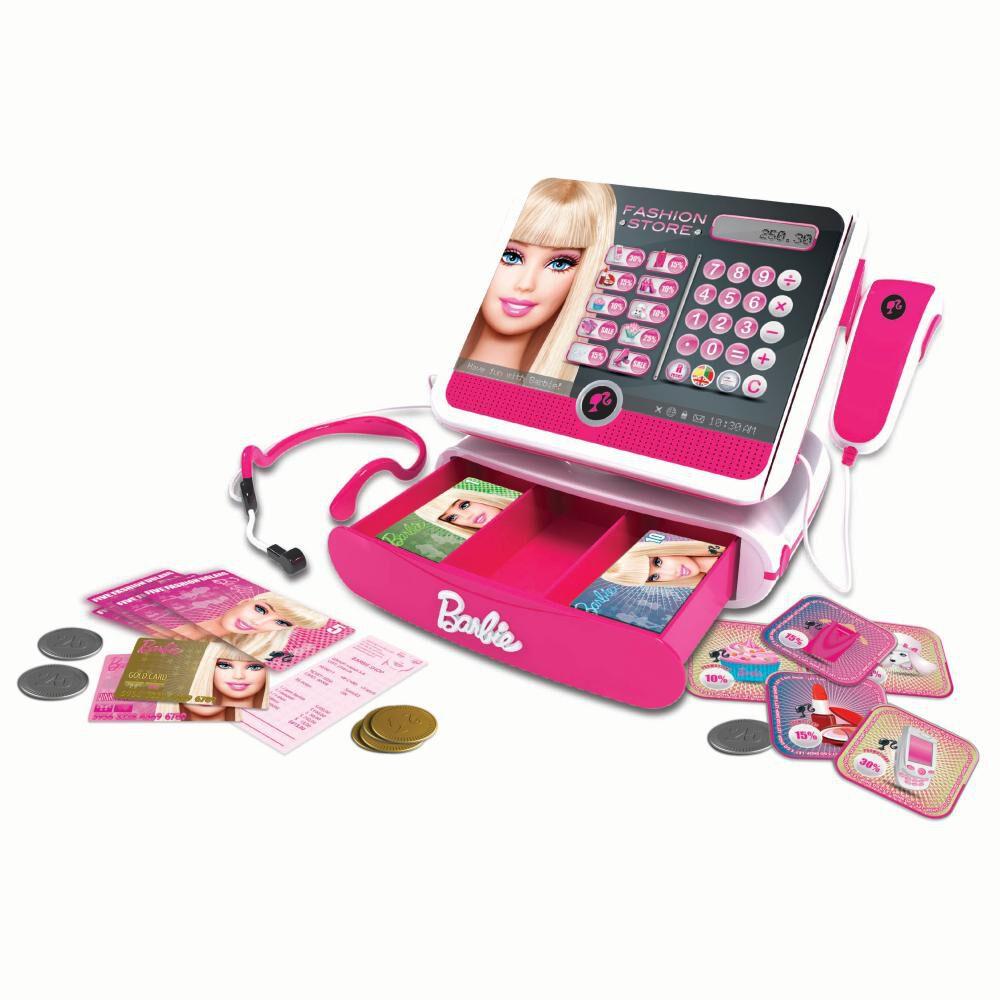 Int-Bbcr2P Caja Registradora Barbie image number 0.0