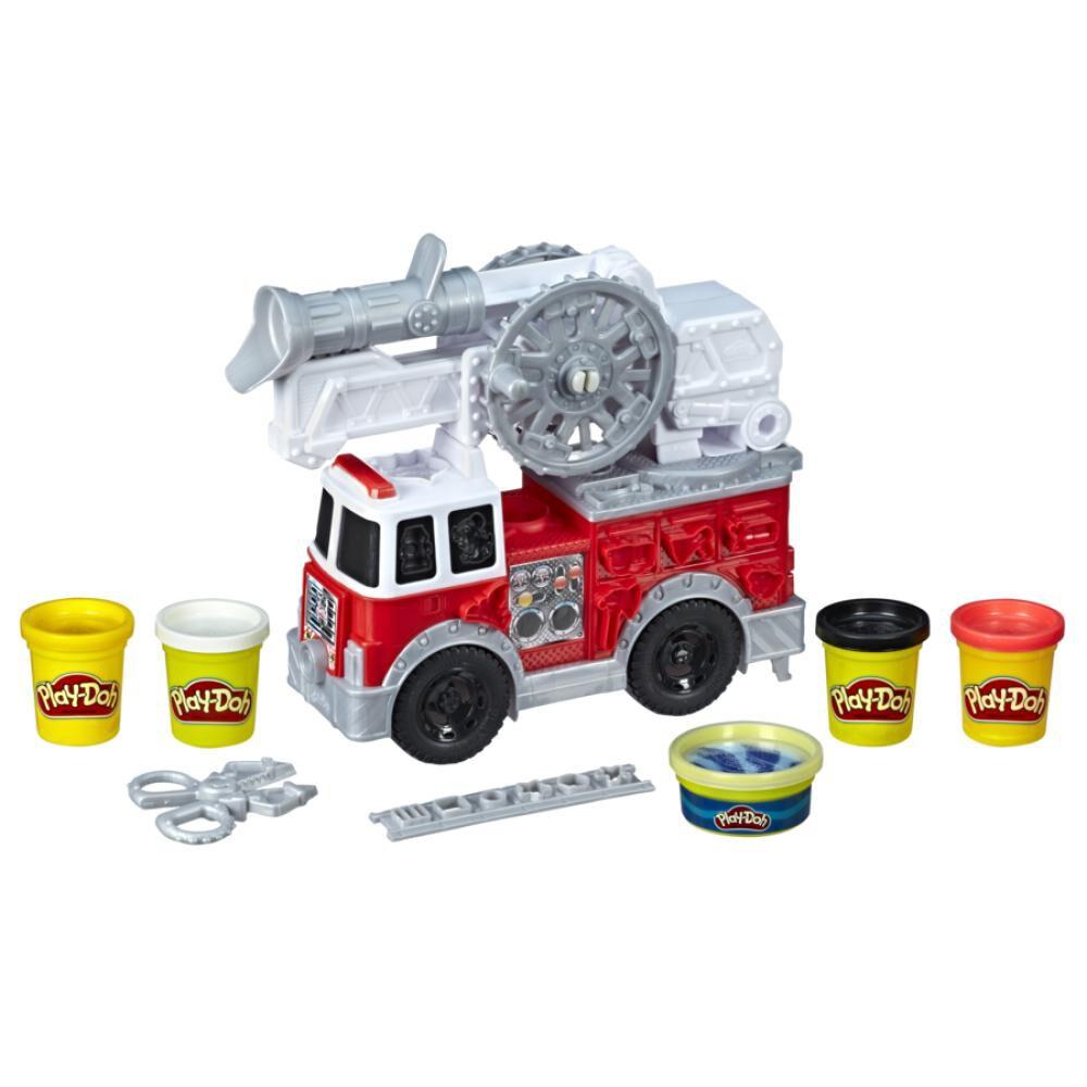 E6103 Play-Doh Camión De Bomberos image number 1.0