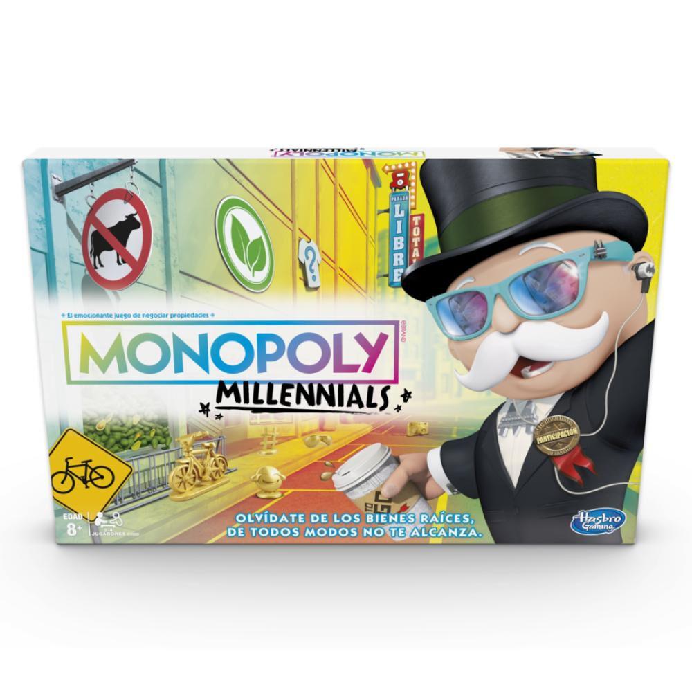 Juegos Familiares Monopoly Millenials image number 0.0