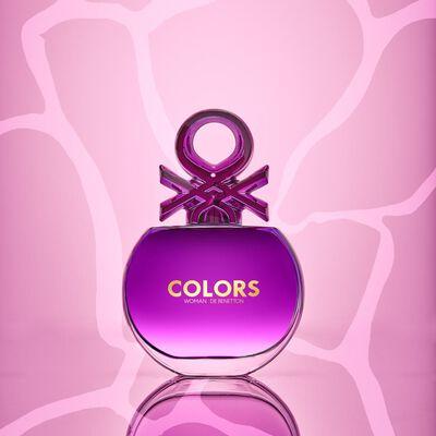Perfume Colors Purple Woman Benetton / 50 Ml / Edt