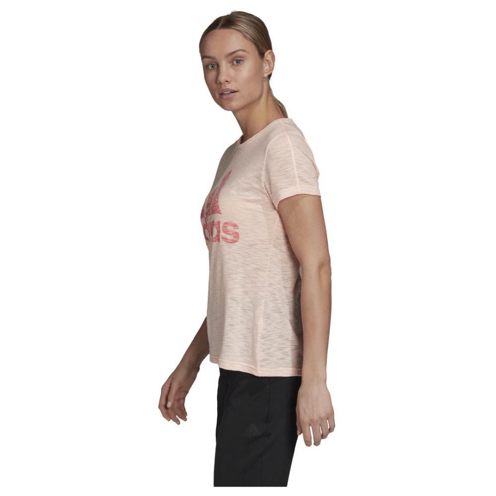 Polera Mujer Adidas W Winners Short-sleeve Crew Tee image number 5.0