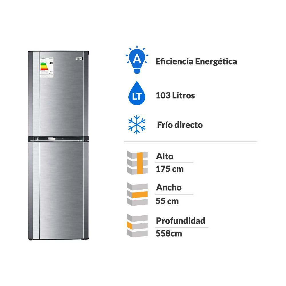 Refrigerador Fensa Combi Progress 3100 Plus / Frío Directo / 244 Litros image number 1.0