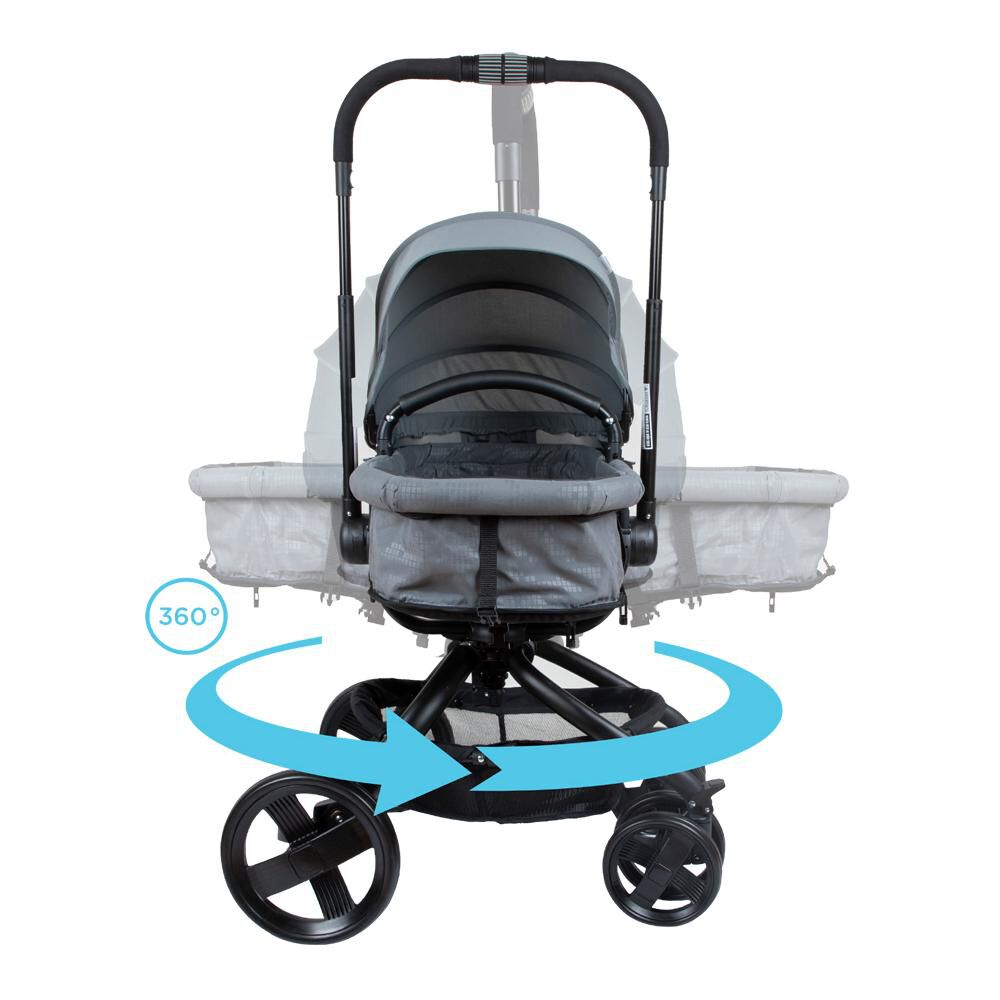 Coche Travel System Infanti I-giro Bright Grey image number 7.0