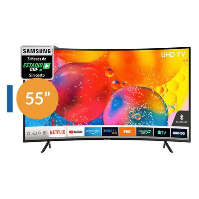 "Led Samsung 55RU7300 / 55"" / Ultra Hd /4K / Curvo / Smart Tv"