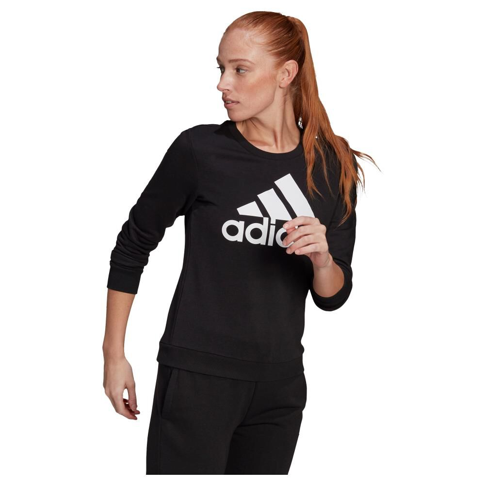 Polerón Deportivo Mujer Adidas Essentials Relaxed Logo image number 0.0