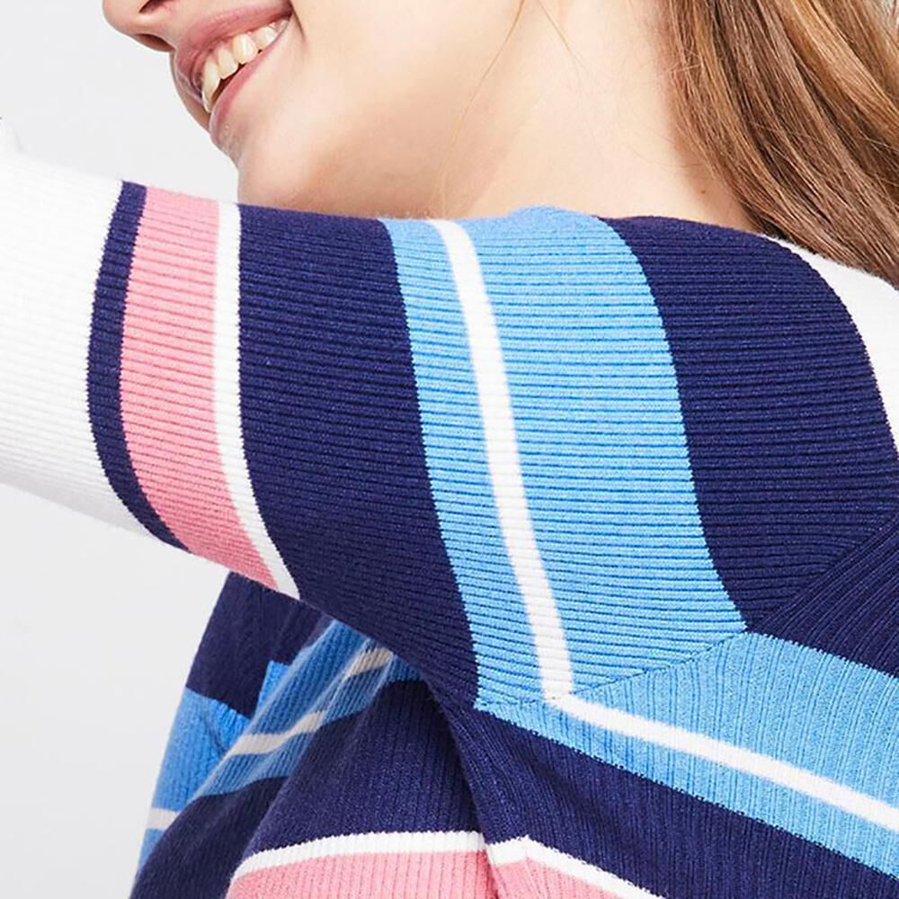 Sweater Rayas Mujer Freedom image number 3.0