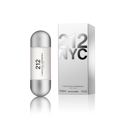 Perfume Carolina Herrera 212 Woman Eau De Toilette / 30 Ml / Edt /