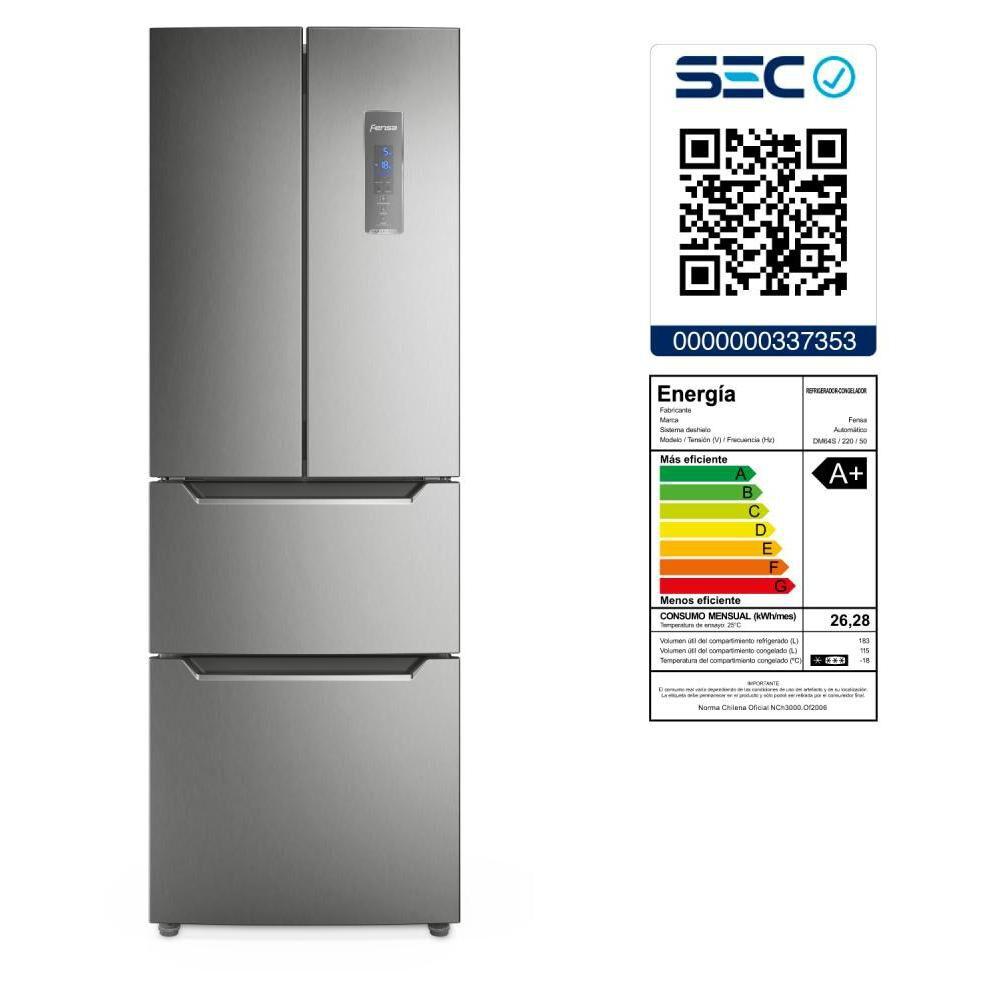 Refrigerador Refrigerador Side by Side Fensa DM64S / No Frost / 298 Litros image number 1.0