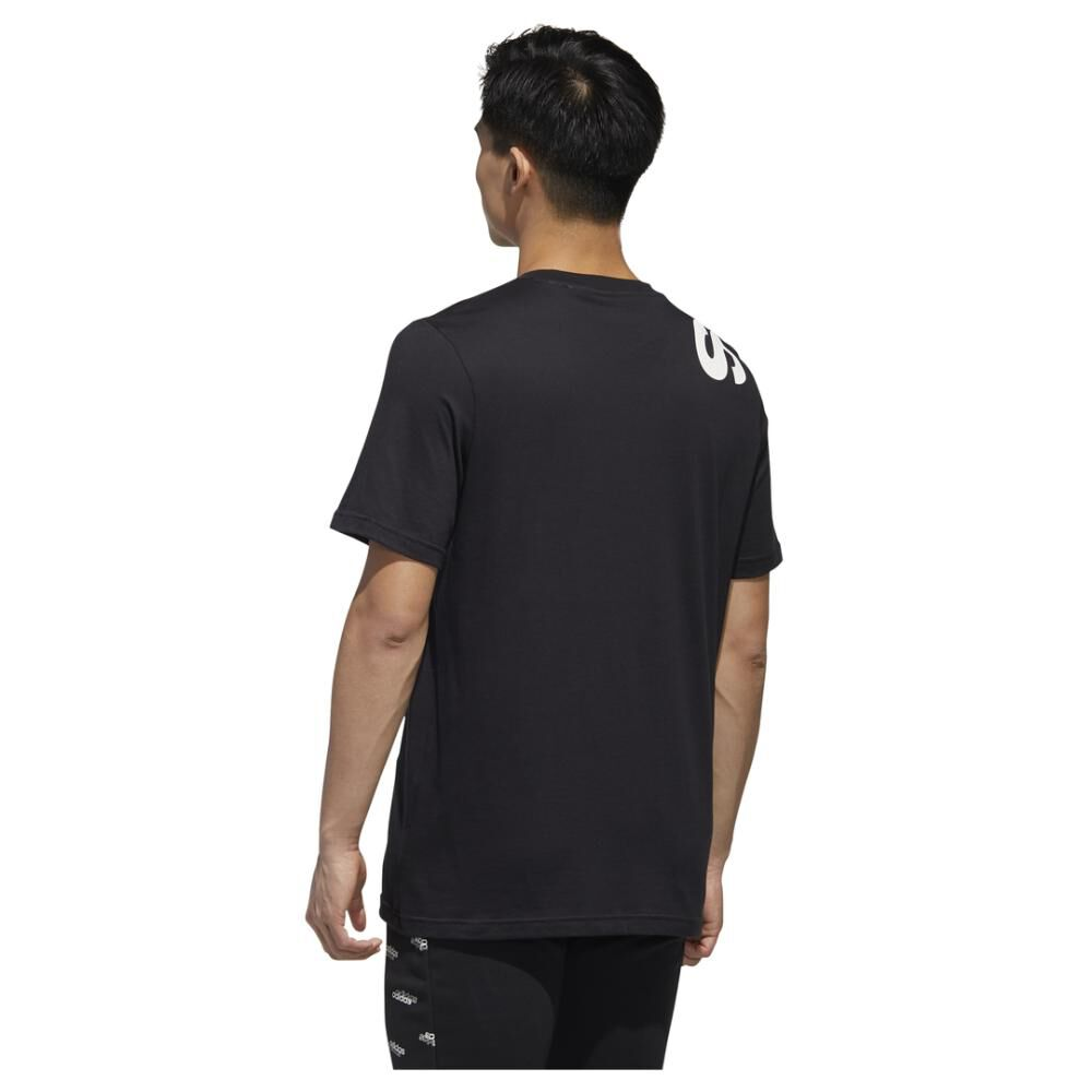 Polera Hombre Adidas M New Authentic Tee image number 3.0